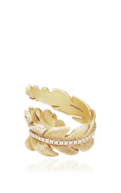 Feather Ring by Susan Foster for Preorder on Moda Operandi