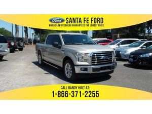 2017 White Gold Ford F 150 Xlt 372591 Ford F150 Ford F150