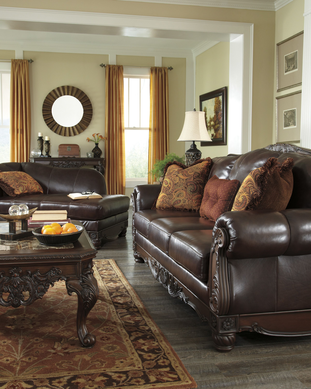 Burnt Orange As An Accent Color Ashley Bedroom Furniture Sets Brown Living Room Decor Living Room Leather