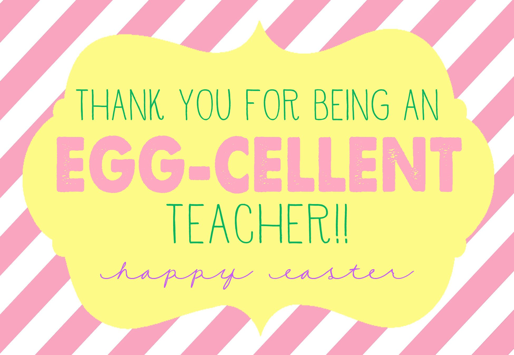 Egg cellent easter gift with free prints for teacher neighbor egg cellent easter gift with free prints for teacher neighbor friends and more lilluna negle Image collections