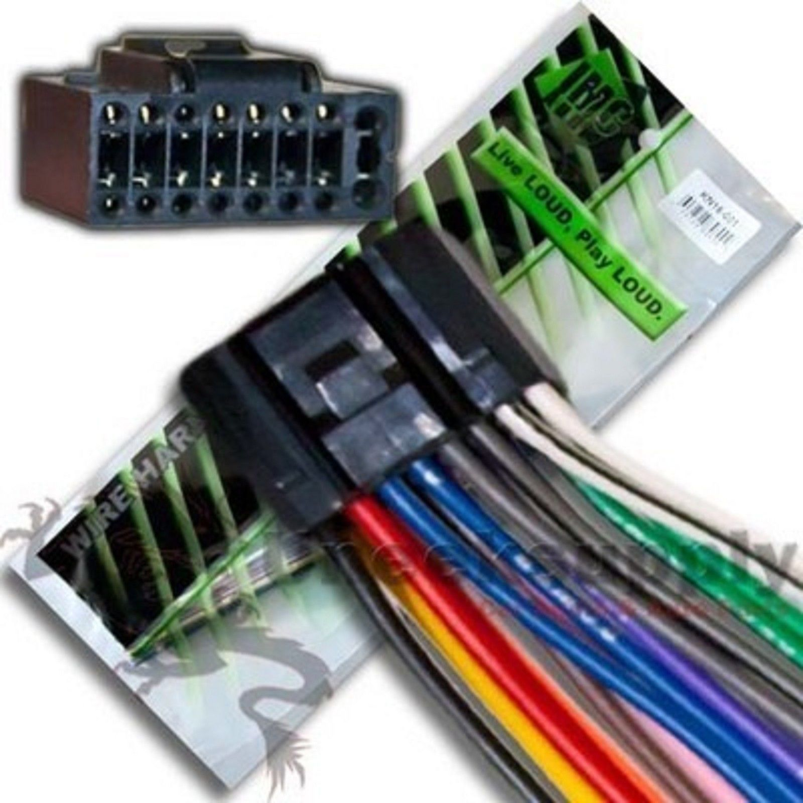 8 94 kenwood wire harness kdc mp145 mp145cr mp245 h94 ebay electronics [ 1600 x 1600 Pixel ]