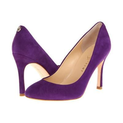 Ivanka Trump Janie High Heels - Purple Suede