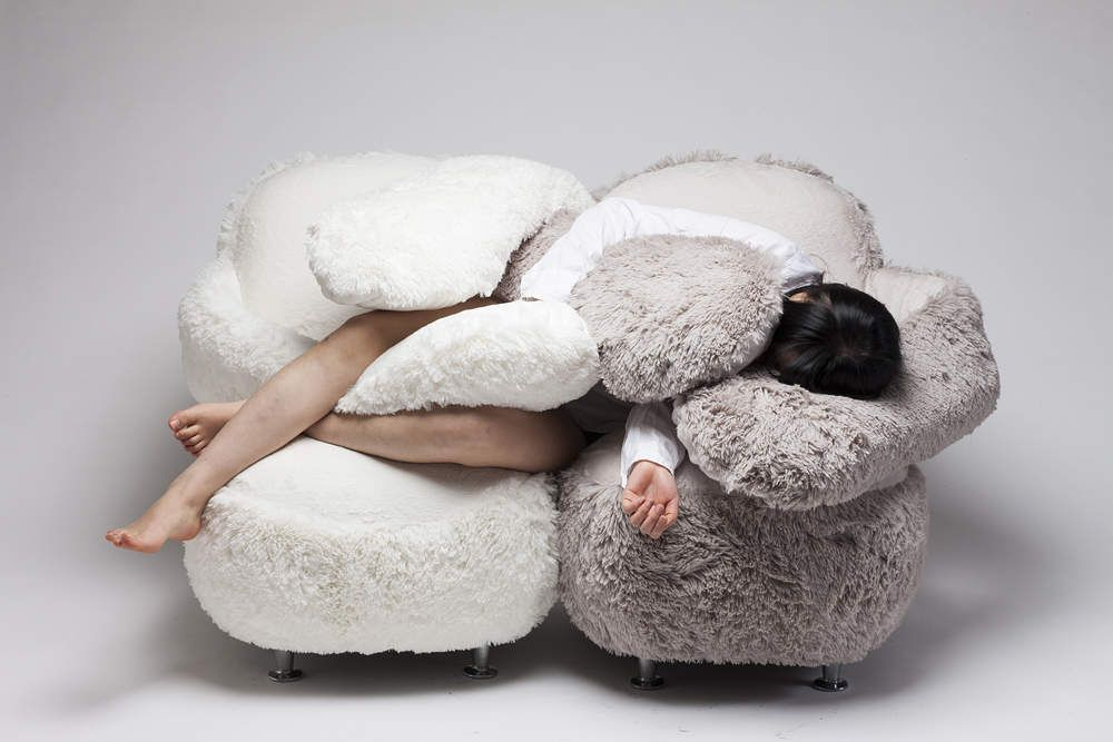 This Flexible Armed Sofa Will Literally Give You A Giant Hug