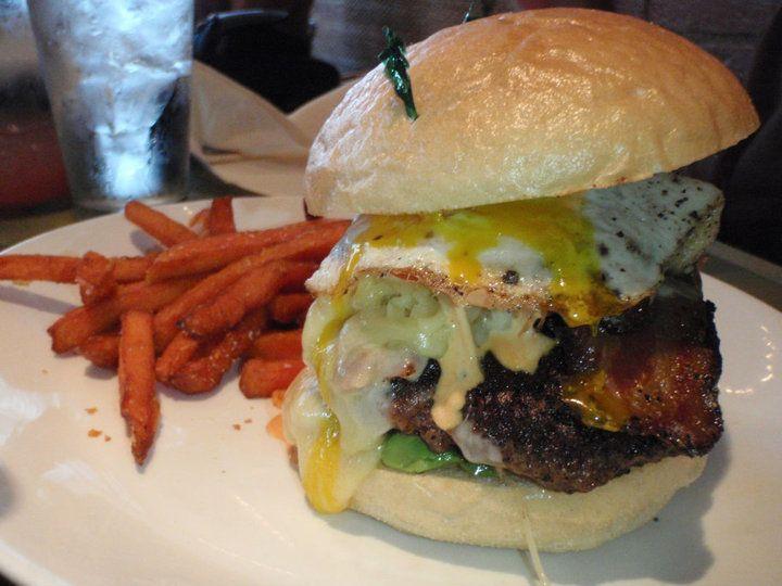 Best burger in the USA.  Kaya Burger from Kaya in #Pittsburgh, PA