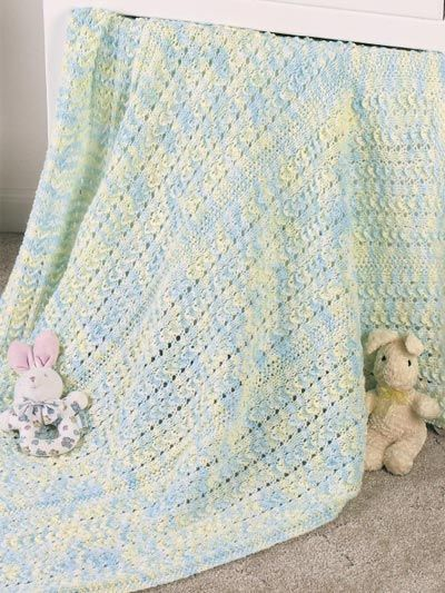 8 Cute Loom Knit Baby Blanket Patterns Knitting Patterns