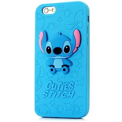 3D Animal Cute Cartoon Stitch Soft Silicone Case Back Cover for ...