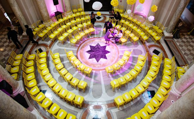 7 Seriously Creative Ceremony Seating Ideas