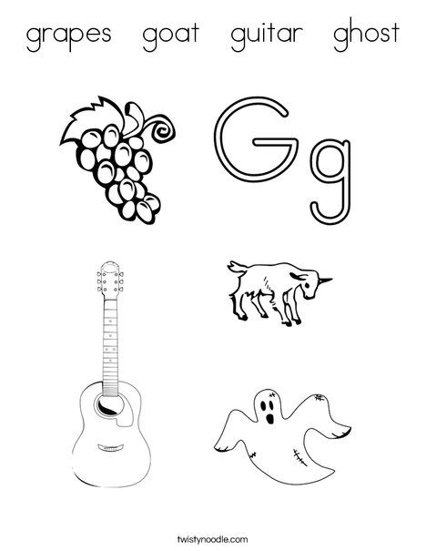 Grapes goat guitar ghost coloring page twisty noodle all things grapes goat guitar ghost coloring page twisty noodle altavistaventures Image collections