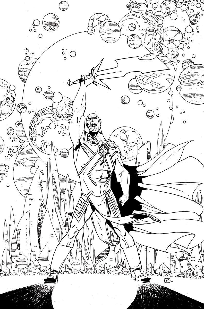 Martian Manhunter 8 Written By Rob Williams Art By Eddy Barrows