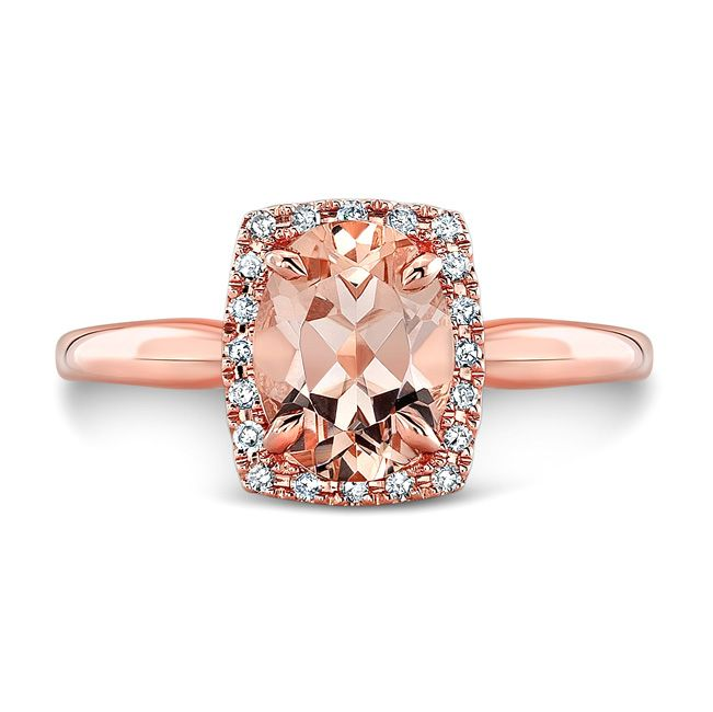 Rose Gold And Champagne Engagement Ring From Downtown Calgary Jewellery Store Breslauer Calgary Jewellery Champagne Engagement Rings Unique Engagement Rings