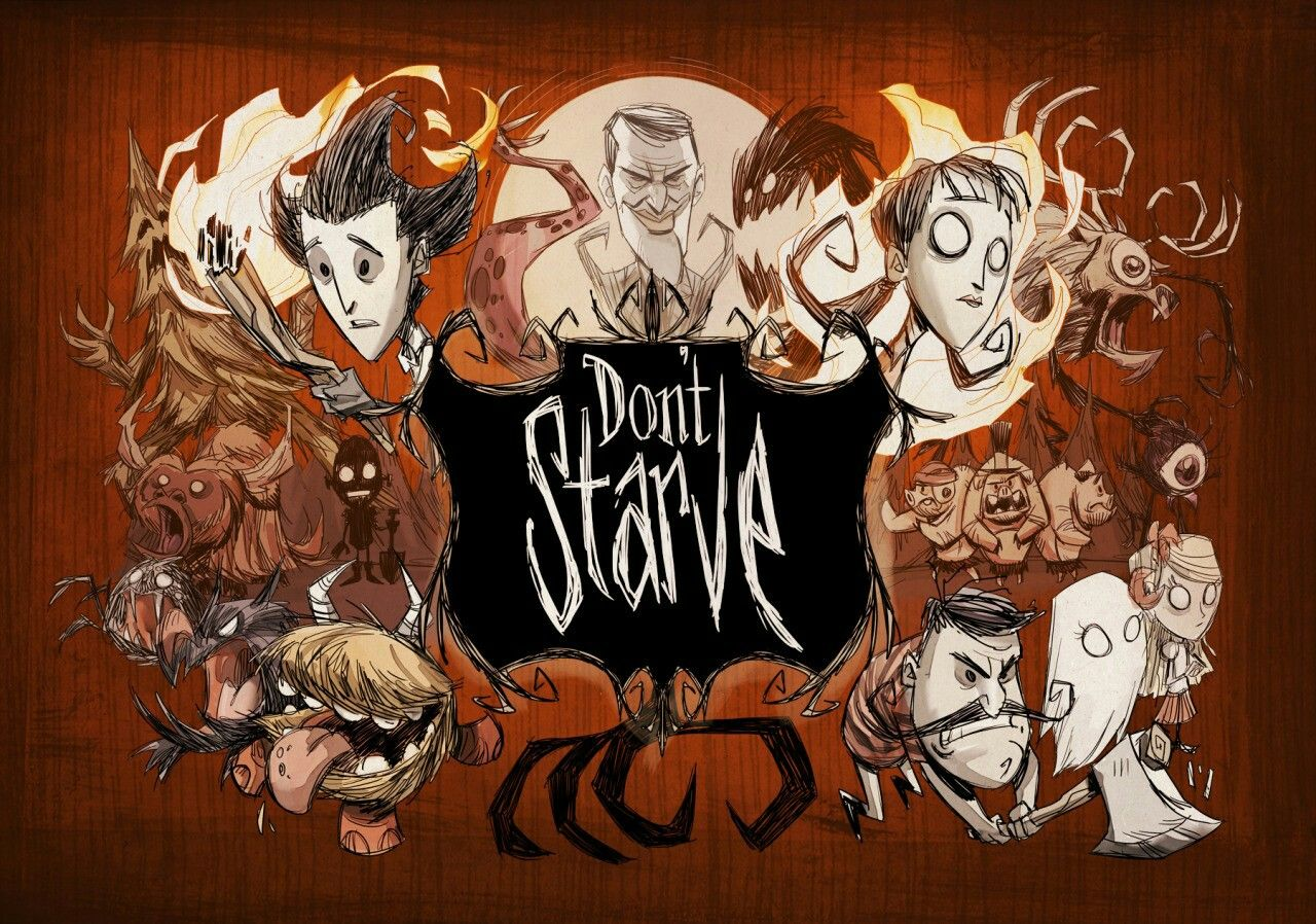 Pin On Videogame Art Dont Starve