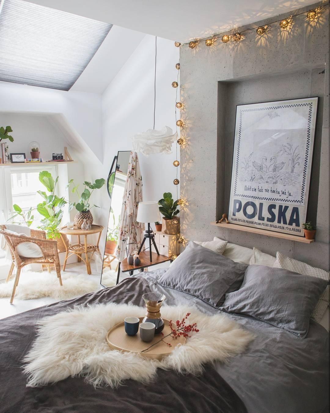Natural Living! In diesem Schlafzimmer kann man sich nur Wohlfühlen ...