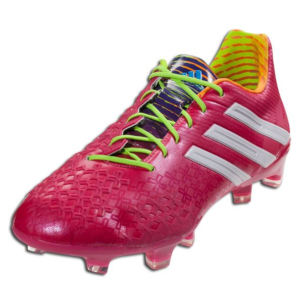 c0cee1ece5ee adidas Predator LZ TRX FG- Samba Pack - Vivid Berry Running White Solar  Slime Firm Ground Soccer Shoes