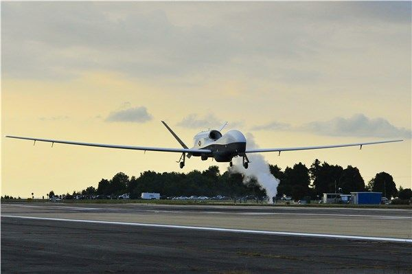 MQ-4C Triton unmanned aircraft system (UAS) built for the US Navy