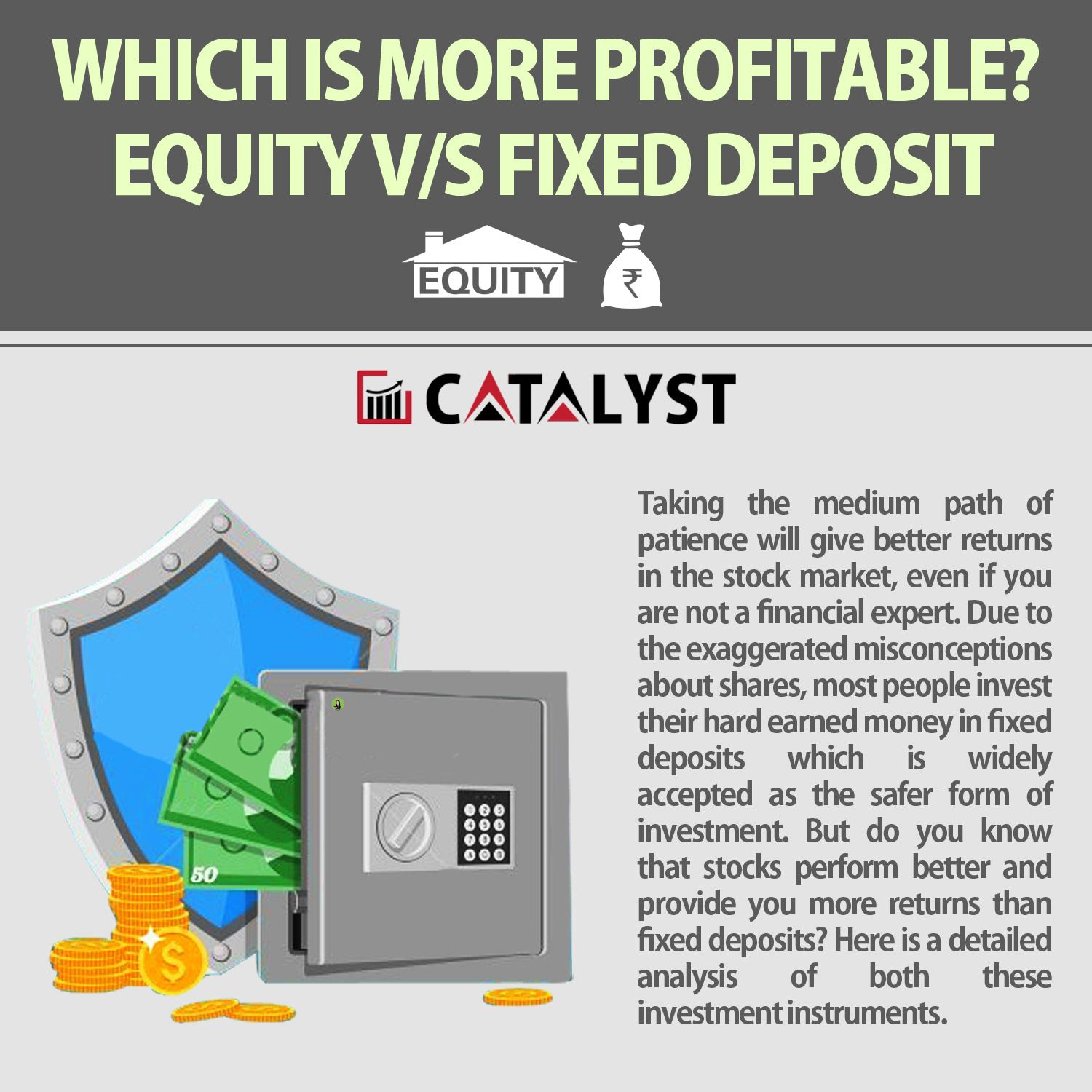 which is more profitable equity v s fixed deposit fixed deposit