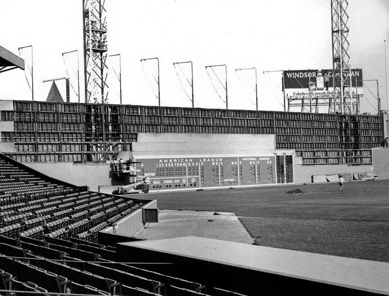 Rare photos of Fenway Park Red sox baseball, Red sox