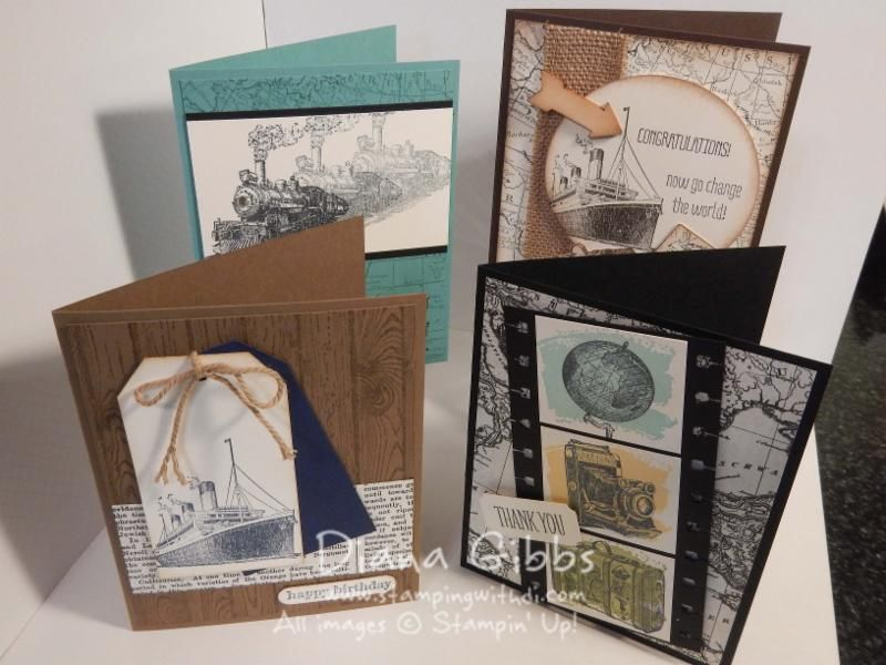 Stamping With Di: Class in the Mail ~ Get Your Santa On ~ Stampin' Up!