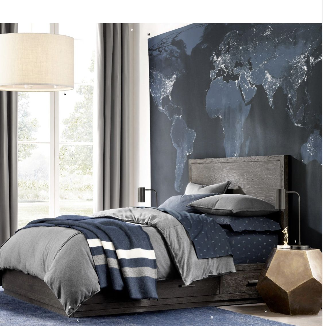 Pin by Candis Garcia on Kids Rooms Inspiration | Boys ... on Beige Teen Bedroom  id=25878
