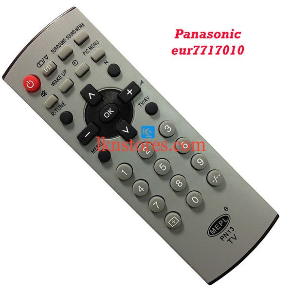 Buy remote suitable for Panasonic Tv Model: EUR7717010 at lowest price at LKNstores.com. Online's Prestigious buyers store.
