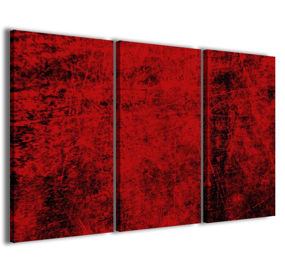 Stampe su tela 3pz.120x90cm Abstract Painting 020 Quadri Moderni ...