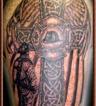 Celtic Tattoos Tattoos Net Fire Fighter Tattoos Celtic