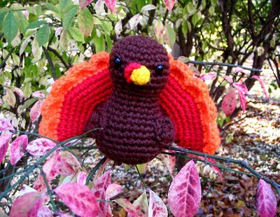 Free Turkey Crochet Pattern