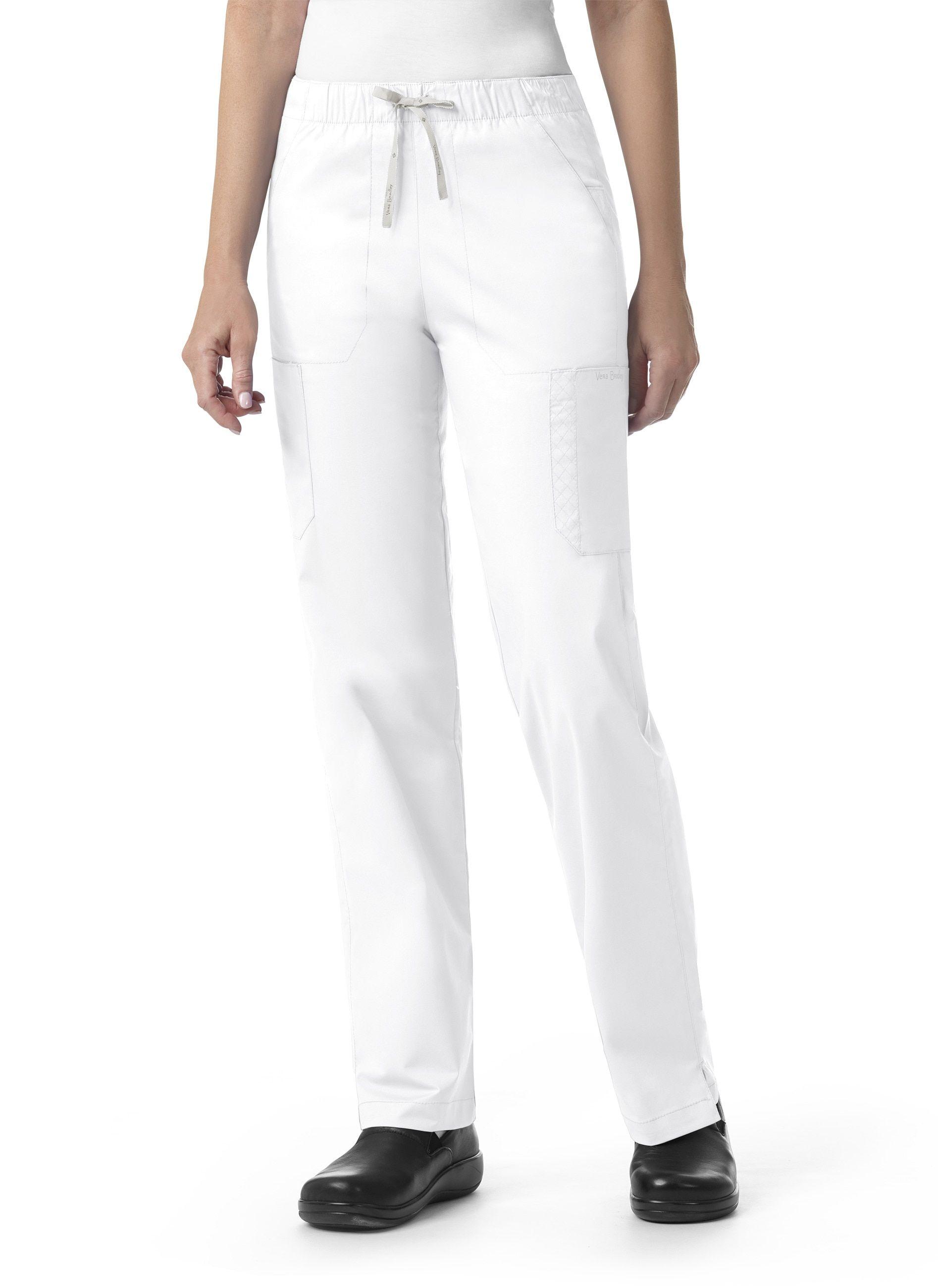f7b41cde954 Pant by Vera Bradley, Style: V5202-WHIT   Vera Bradley Scrubs   Pants,  Sweatpants, Vera bradley