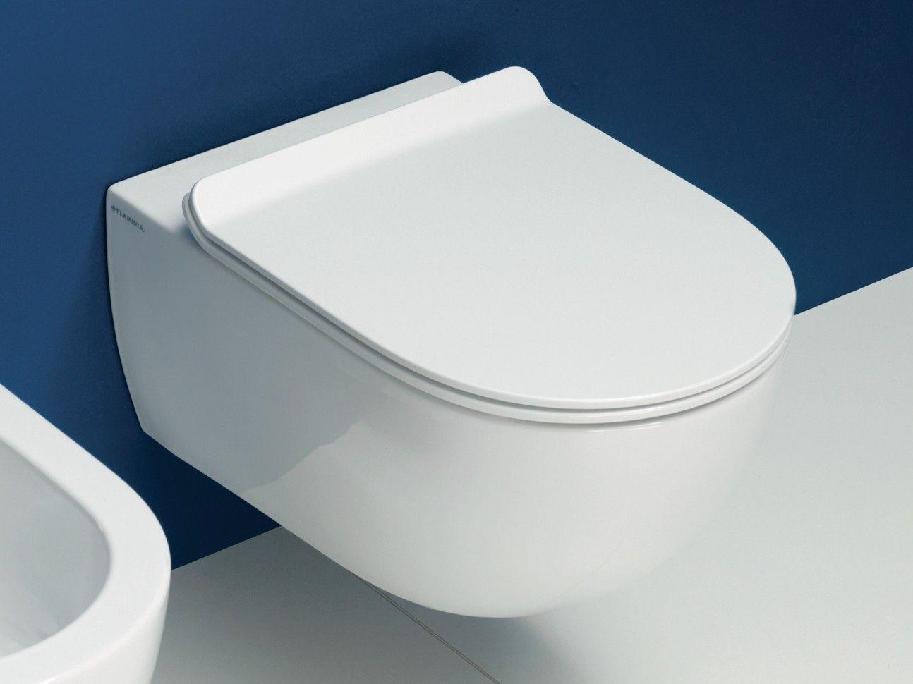 Bathroom App flaminia app goclean wc vaso sospeso cod. ap118g con sedile slim