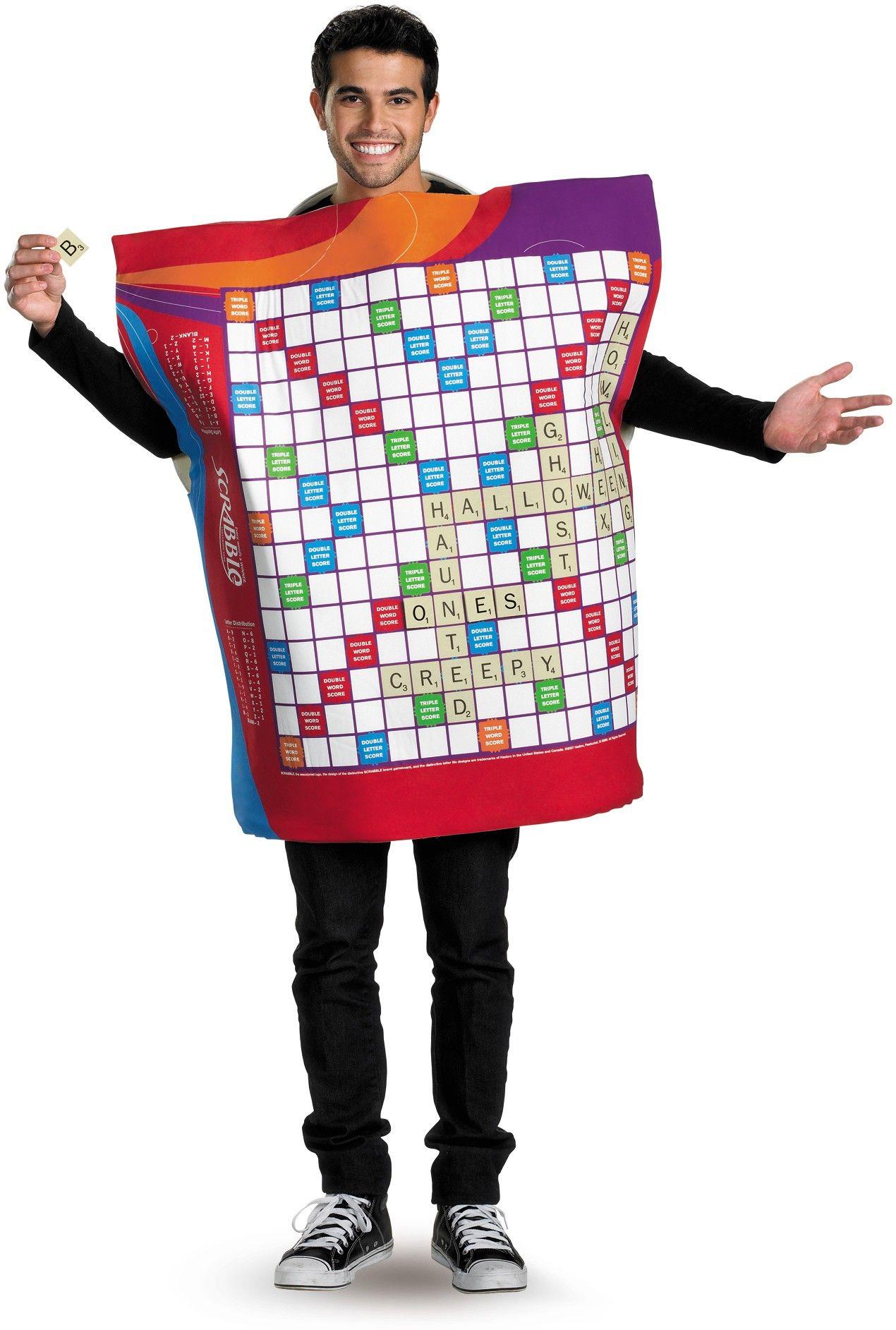 Scrabble Deluxe Adult Costume XL Halloween costume store