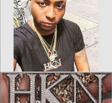 Davido Reveals The Worth of His Custom HKN Necklace - http://www.77evenbusiness.com/davido-reveals-the-worth-of-his-custom-hkn-necklace/