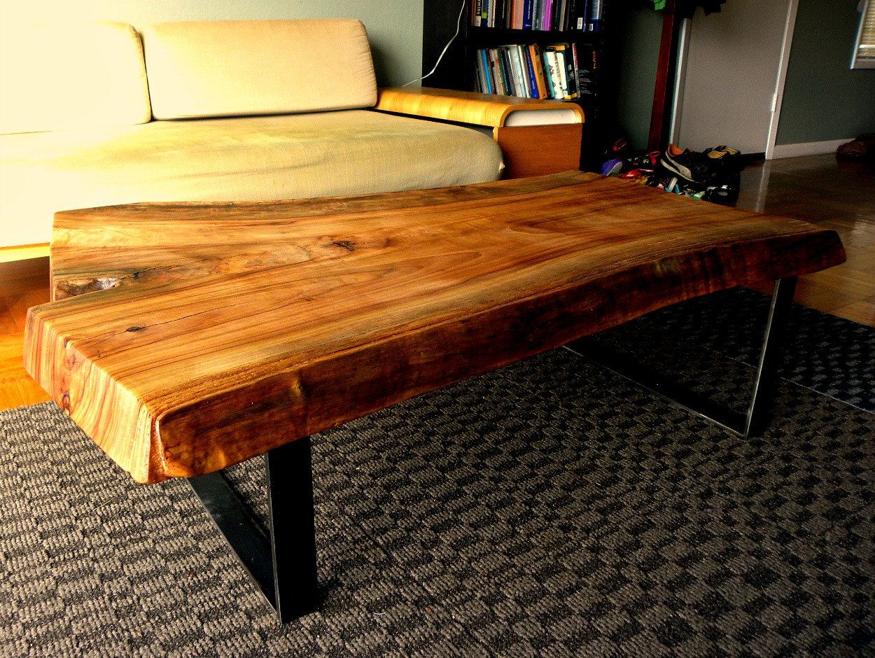 Cedar Slab Coffee Table By 265design On Etsy 60000