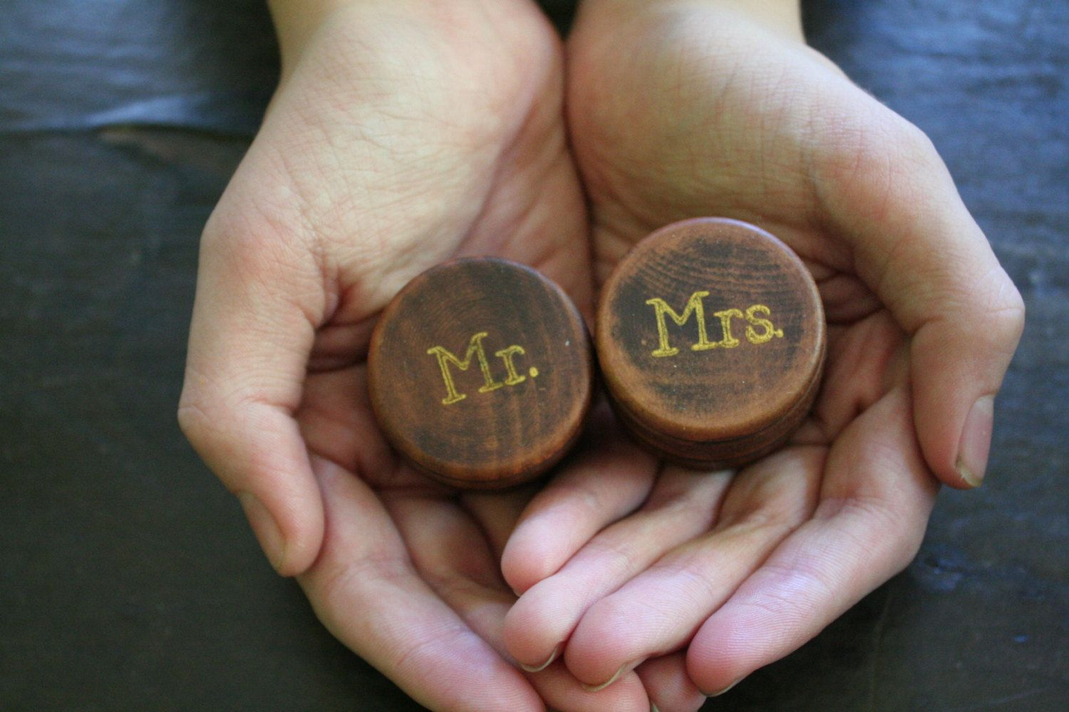 Ring bearer box set tiny round wedding ring boxes ring warming