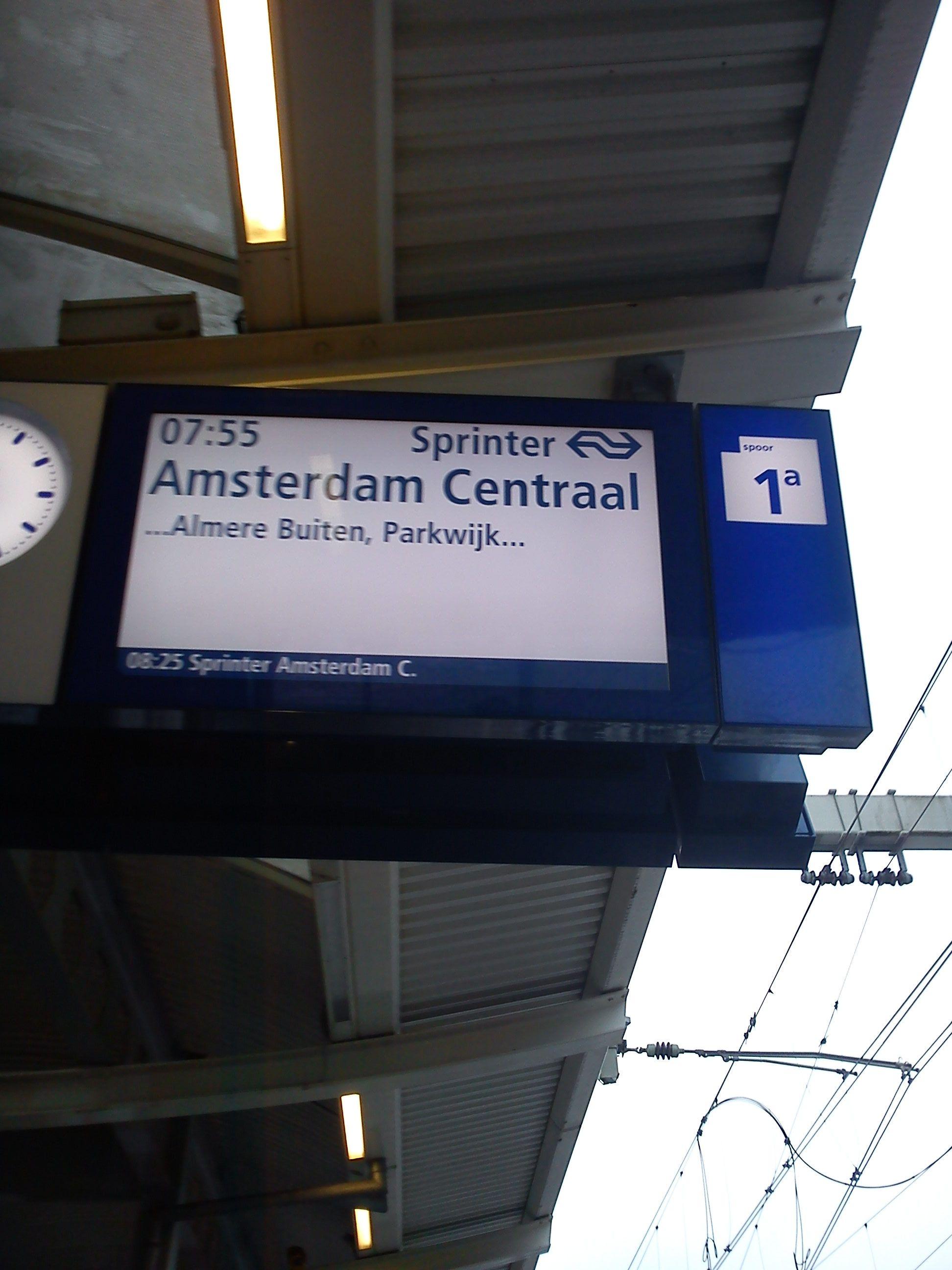Op naar Amsterdam Muiderpoort