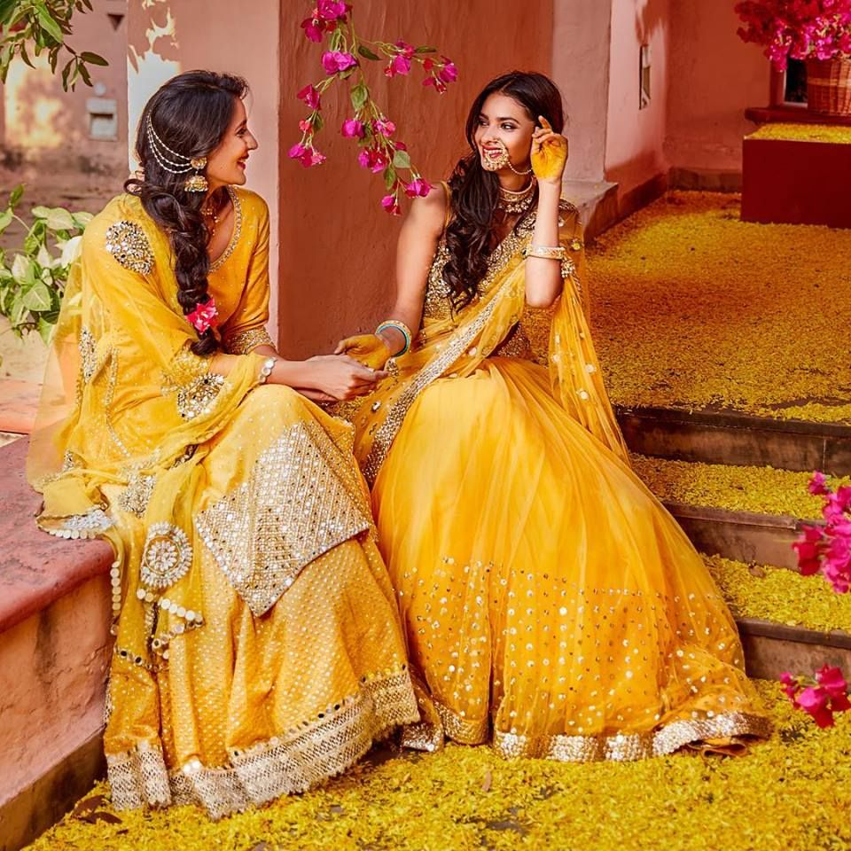Just Perfect Attire for Any Occasion, Be it your Haldi