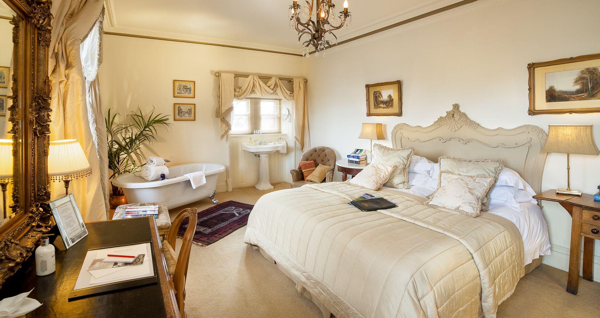 The Traddock, Austwick Breakfast in bed, Small hotel