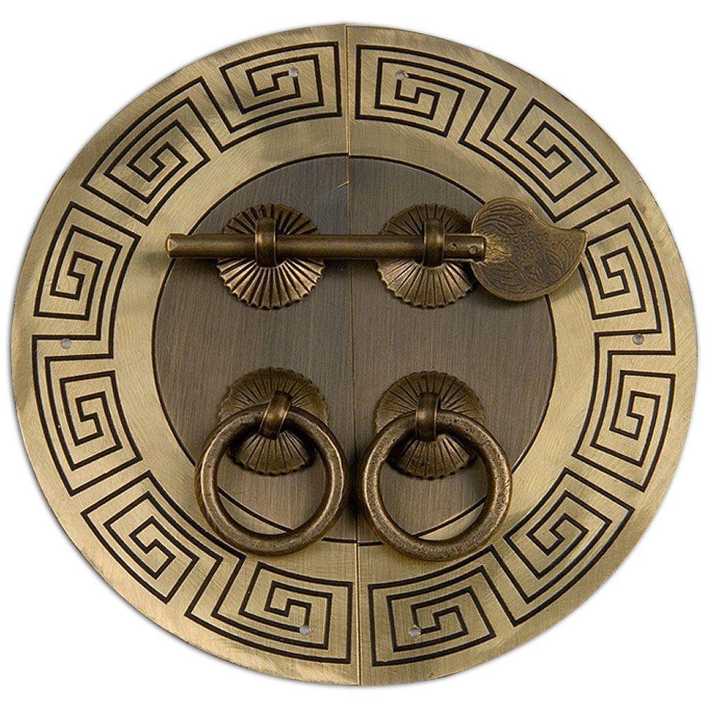 Tibetan Cabinet Face Plate 5-1/2″