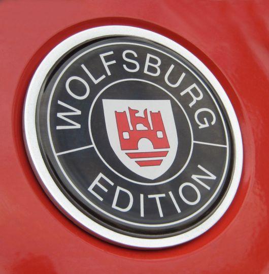 VW Wolfsburg Edition Badge
