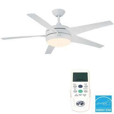 Delightful White Energy Star Energy Star Ceiling Fan, 55296 At The Home Depot   Tablet