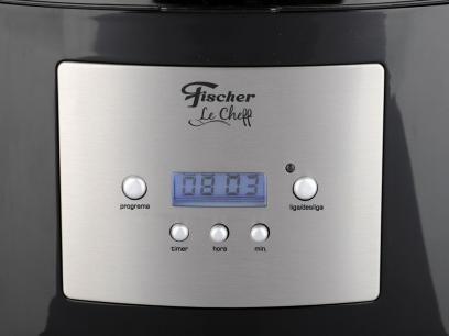 Cafeteira Elétrica Fischer Le Cheff 25 Xícaras - Preto com as melhores condições você encontra no Magazine Sensibilidade. Confira!