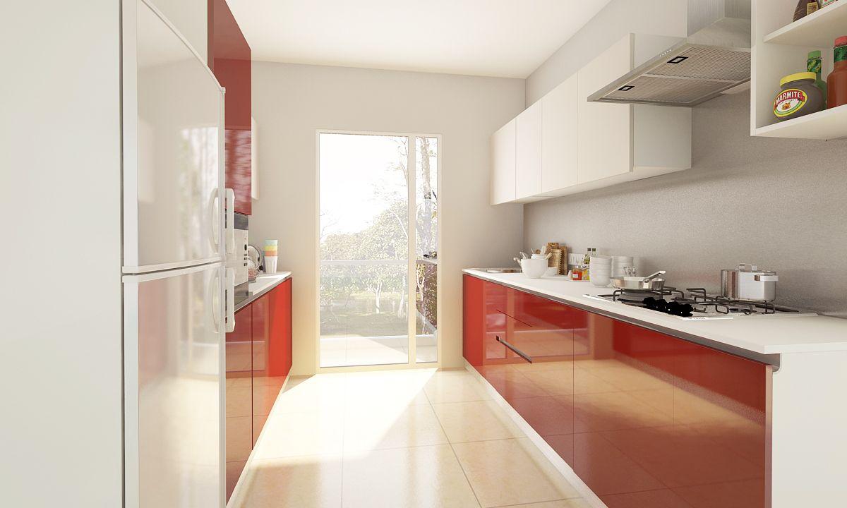 modular kitchen design ideas parallel intended for parallel kitchen designs parallel kitchen on kitchen interior parallel id=38894