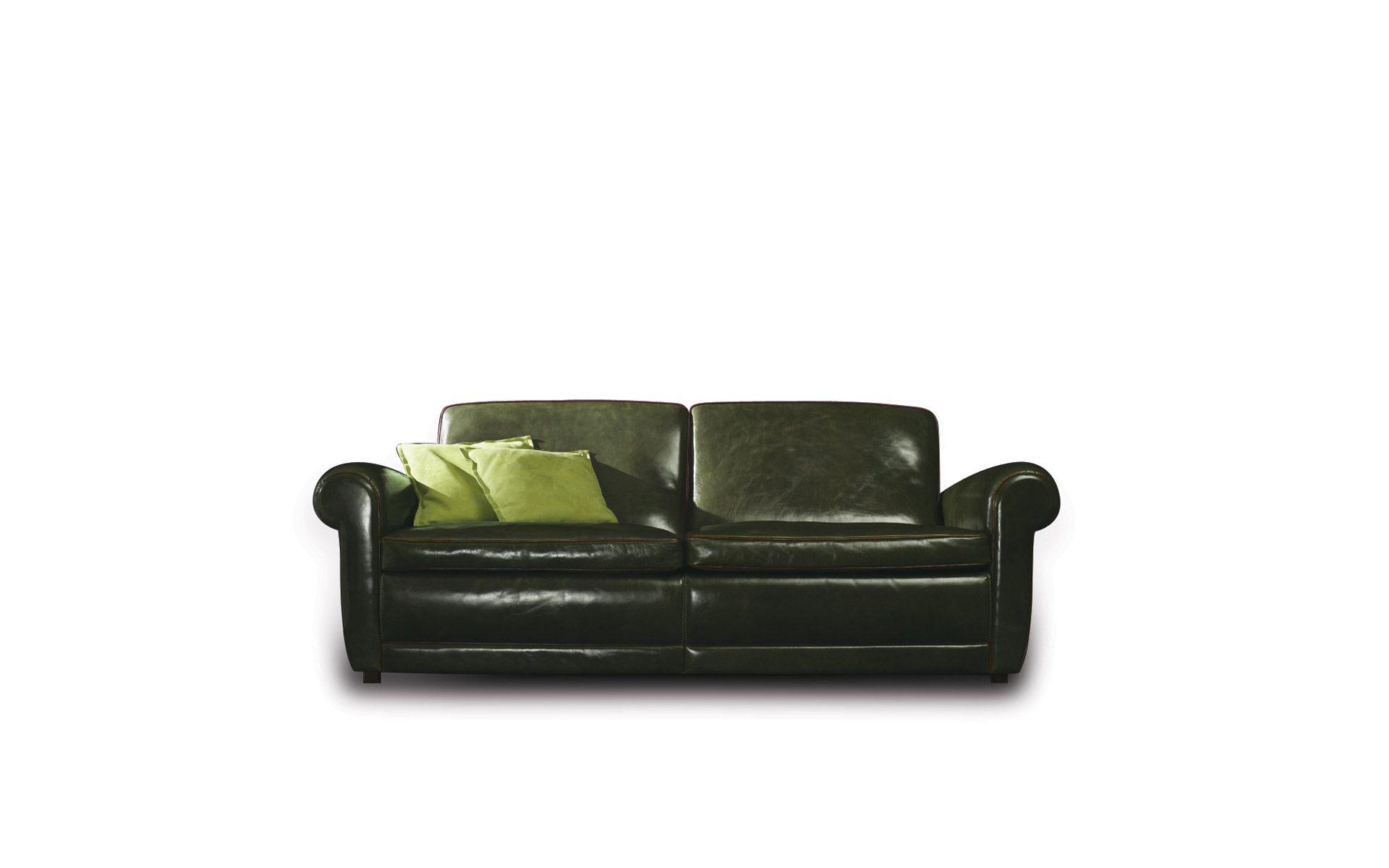 Leather Sofa Mickey Extra Baxter