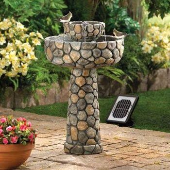 Wishing Well Outdoor Solar Fountain