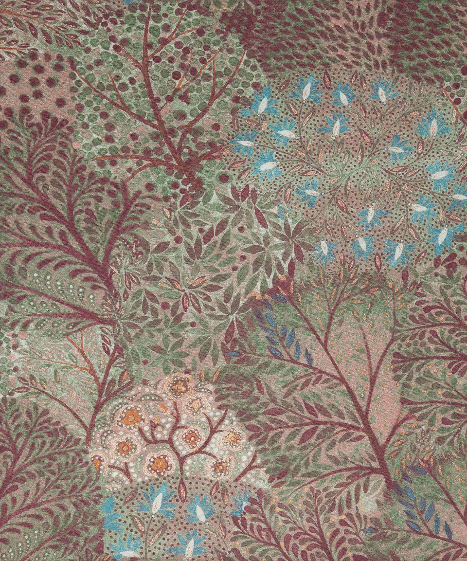 Ray Linen Union In Woodland | Nesfield Collection By Liberty Art Fabrics U2013  Interiors | Liberty