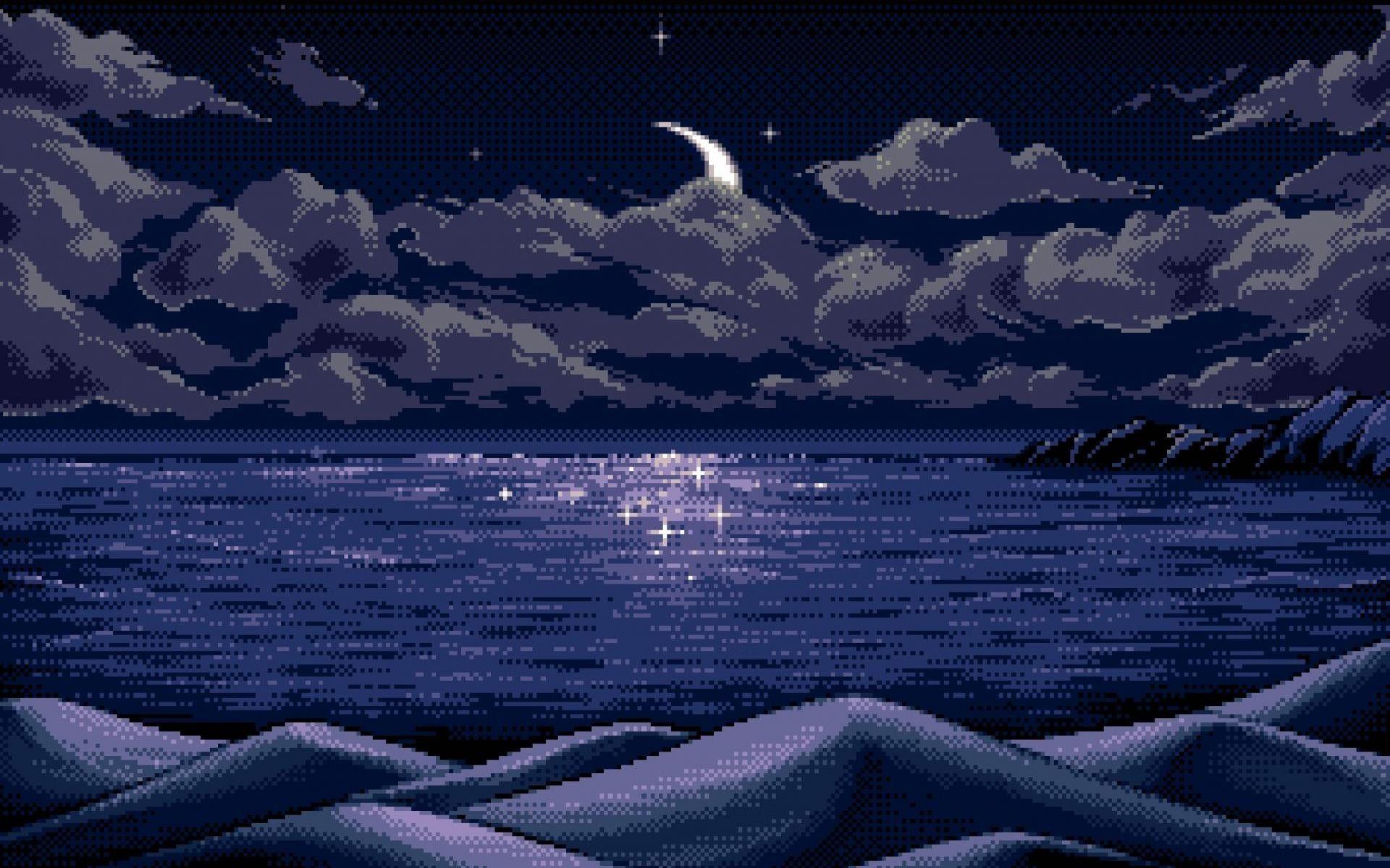 Landscape Tumblr Wallpapers Hd Pixel Art Landscape Desktop Wallpaper Art Pixel Art
