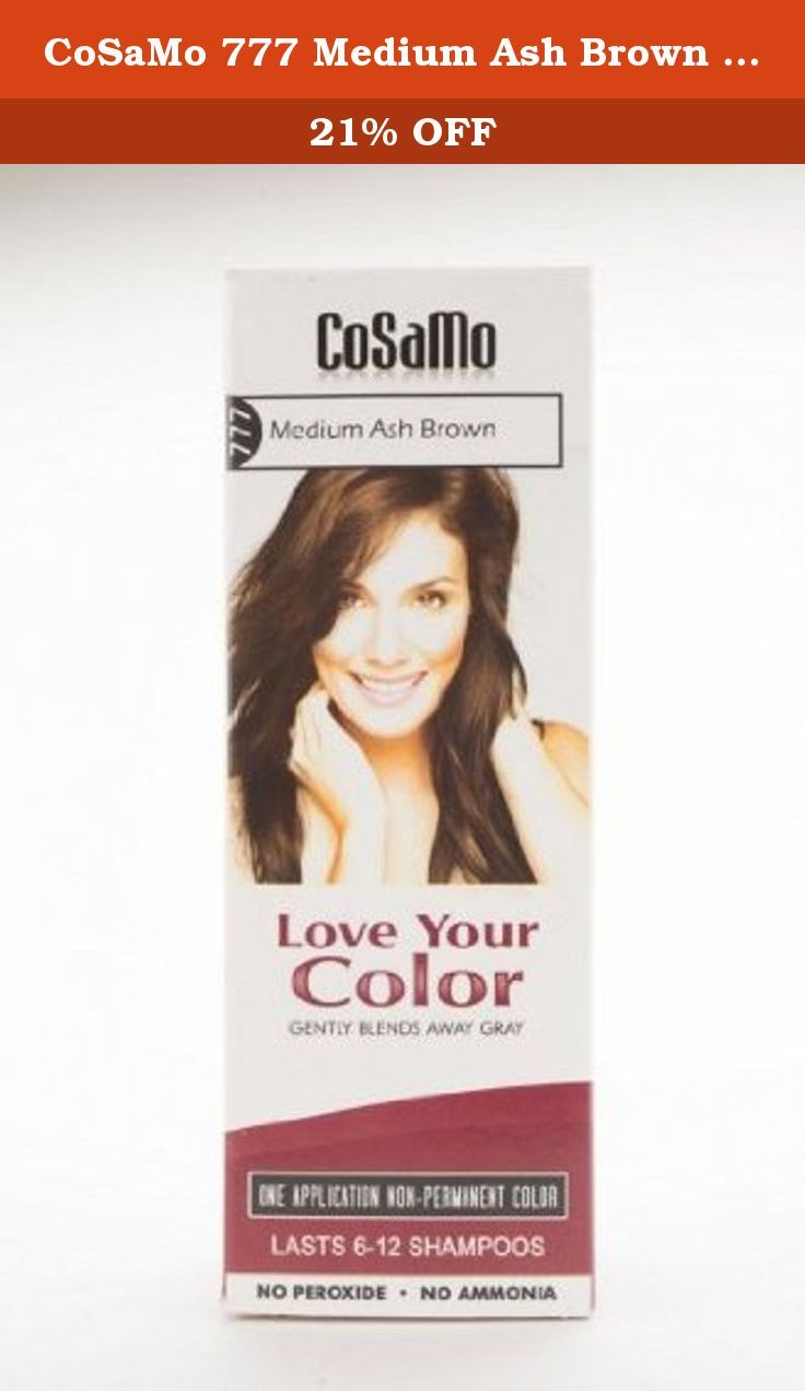 Cosamo 777 Medium Ash Brown Pack Of 3 Cosamo Love Your Color
