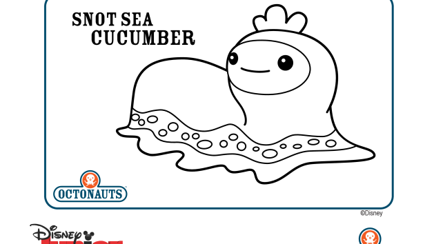 Octonauts sea creatures coloring pages coloring page for Disney junior octonauts coloring pages