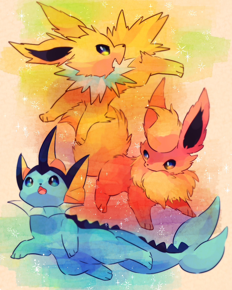 c5a7445d Vaporeon #Jolteon #Flareon | Eevee | Pokemon eeveelutions, Pokemon ...