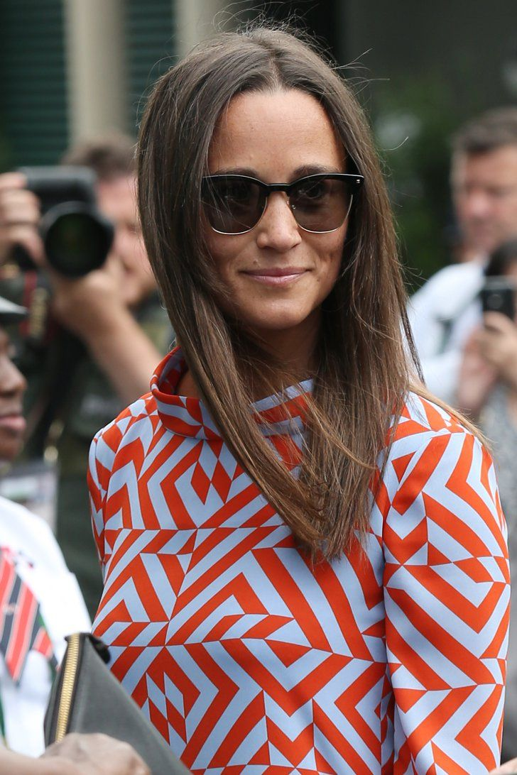 Pin for Later: Pippa Middleton Pulled Out a Chic Dress at Wimbledon