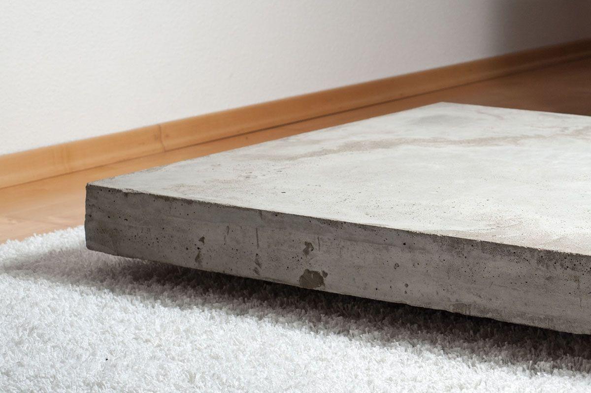 lounge+ concrete cocktail table | jung und grau - betonmöbel und ... - Beton Wohnzimmertisch