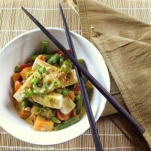 Thai Massaman Curry with Sweet Potatoes and Tofu - Connoisseurus Veg
